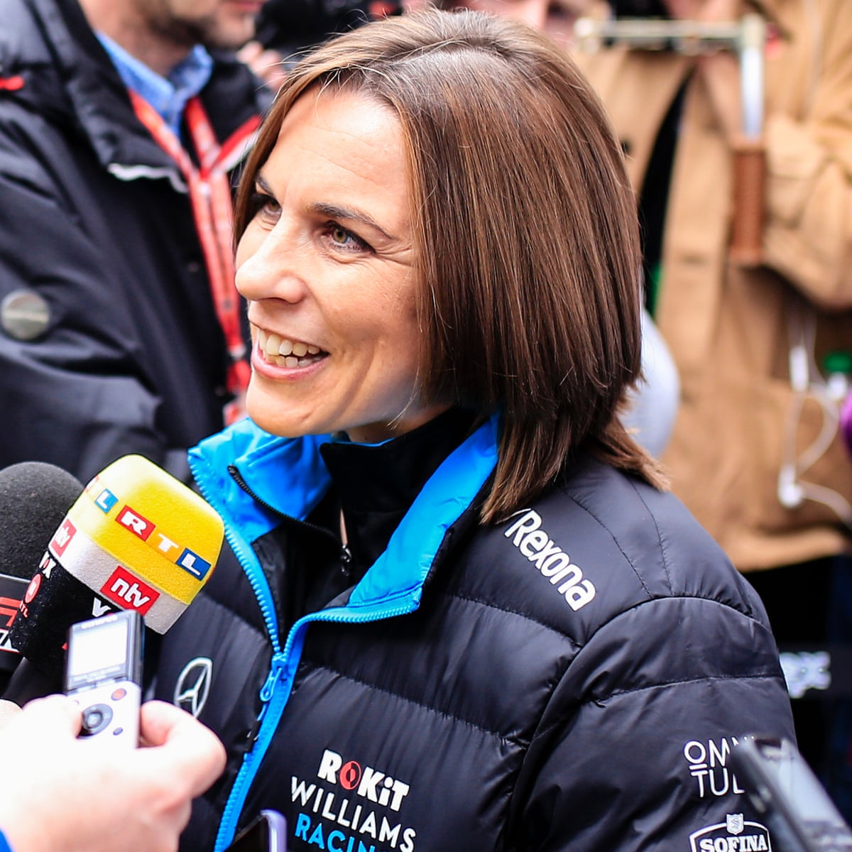 Claire Williams Confident F1 Team Will Continue Despite Financial Trouble Sport The Guardian