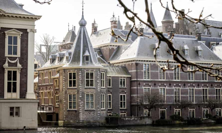 The Hague ... what appears to be a straight path through the story becomes a labyrinth.