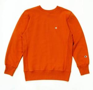 Orange, £69 Champion urbanoutfitters.co.uk