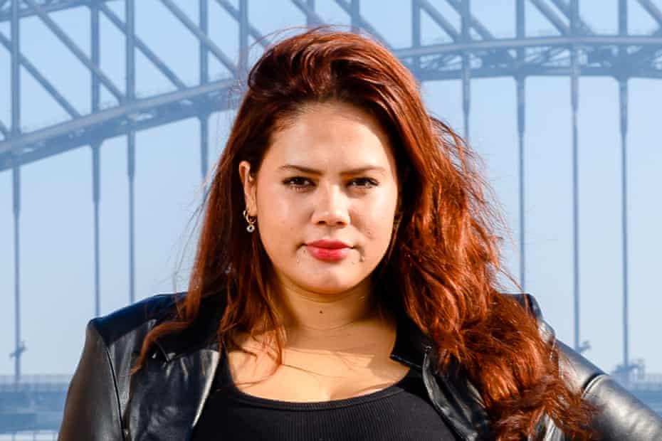 Mahalia Handley. Fashion week Sydney 2021.