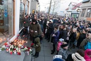 A memorial for Birnu Brjánsdóttur in central Reykjavik.