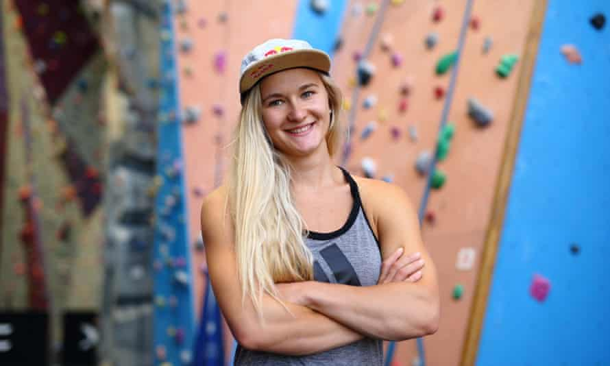 'For bouldering I was training six days a week, up to eight hours a day,' says Coxsey. 'Now my regime is stricter than ever.'