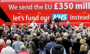 Vote Leave Brexit battle bus