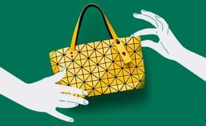 The tiny anniversary Bao Bao Issey Miyake bag