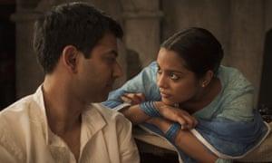 Zaib Shaikh and Shahana Goswami in Midnight's Children (2012)