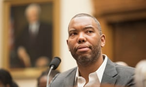 Ta-Nehisi Coates testifies at a congressional hearing on reparations for slavery in Washington DC, June 2019