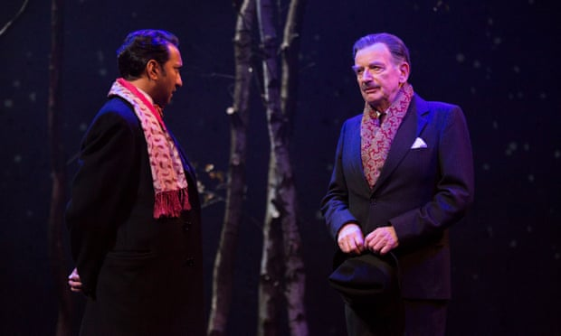 'I have to do him justice' … Ian McDiarmid and Phaldut Sharma in What Shadows at Birmingham Rep.