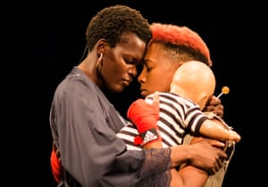 Sheila Atim (Lady Percy) and Jade Anouka (Hotspur) in Henry IV