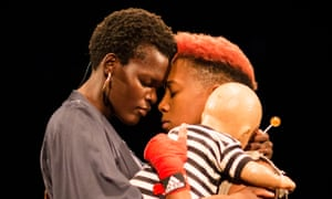 Shakespeare as street poetry … Sheila Atim as Lady Percy and Jade Anouka as Hotspur in Henry IV.