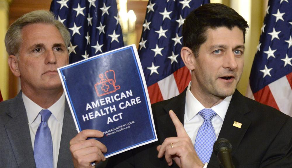 Speaker Ryan Introduces New Health Care Law On Capitol Hill