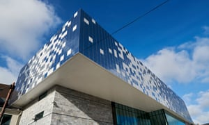 'Europe's largest unsupported cantilever' … the Box museum in Plymouth.