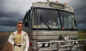Terence Stamp as Bernadette Bassenger & Bus in The Adventures of Priscilla, Queen of the Desert (1994)