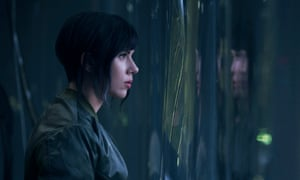 Ghost in the Shell: Scarlett Johansson as The Major.
