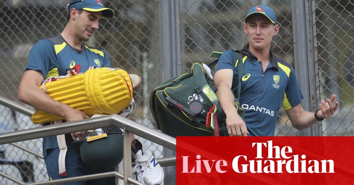 India v Australia: first one-day international – live!