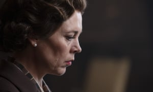 Get a move on ... real life is making Olivia Colman's Crown torpid.