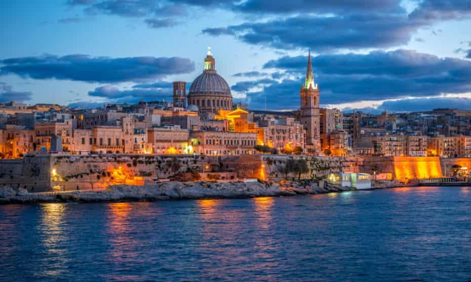 Basilica Our Lady Mount Carmel, Valletta.