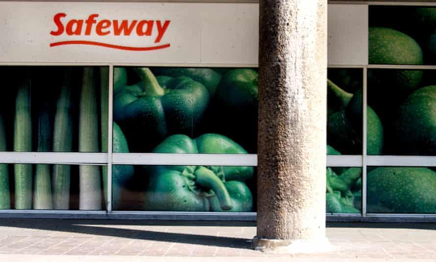 A branch of Safeway supermarket in 2003.