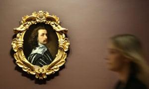 Sir Anthony van Dyck, circa 1640, by Sir Anthony van Dyck.