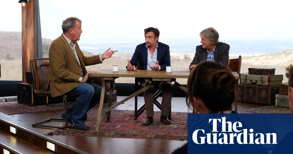 A listless army of zombie lads: why The Grand Tour's studio