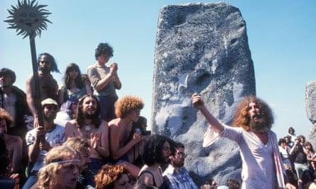 Dionysian visionSummer solstice at Stonehenge in 1975.