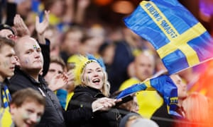 Sweden fans saw a lot of goals during their campaign.