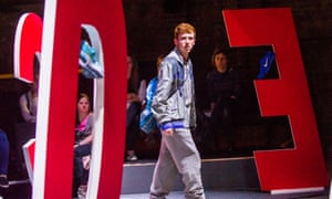 Showing what we refuse to see... Frankie Fox in Boy at the Almeida, London.