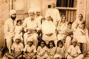 Rami Ranger's grandparents with their children and grandchildren