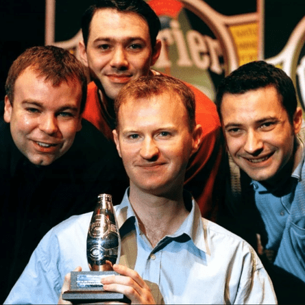'No one knew who we were' … The League of Gentlemen's Steve Pemberton, Reece Shearsmith, Mark Gatiss and Jeremy Dyson won the Perrier award in 1997