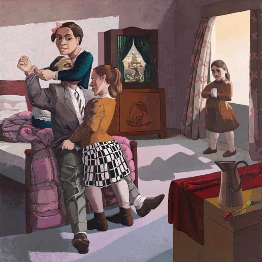 The Family, 1988 by Paula Rego.
