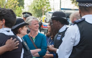 Sophie Linden at the Notting Hill Carnival last August, where security was increased following the French terrorism attacks