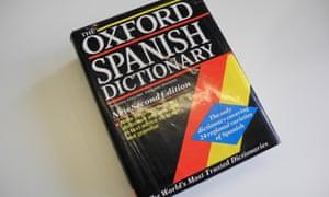 A Spanish dictionary