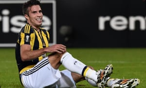 Robin van Persie 'is not playing well' for Fenerbahce.