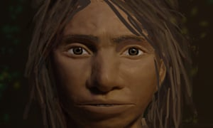 A preliminary portrait of a juvenile female Denisovan based on a skeletal profile reconstructed from ancient DNA found in a fossilised finger bone.