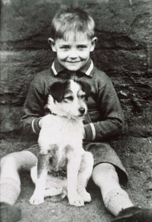 Connery as a young boy.