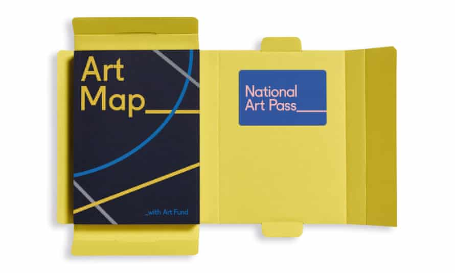 Open Welcome Pack + Art Map +1 NAP card