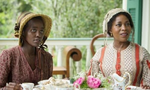 With Lupita Nyong'o in 12 Years a Slave.