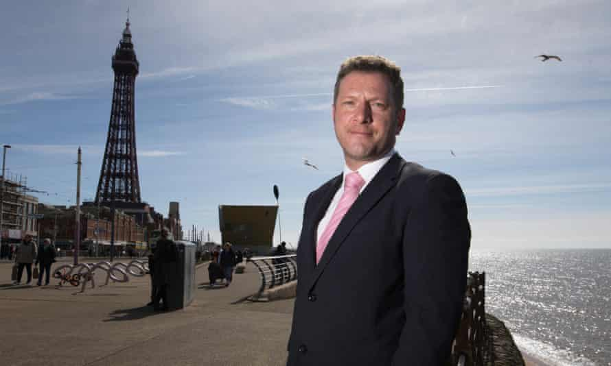 Ian Treasure from the charity Blackpool Fulfilling Lives