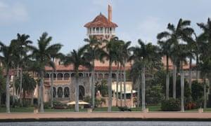 Donald Trump's Mar-a-Lago resort in Florida.