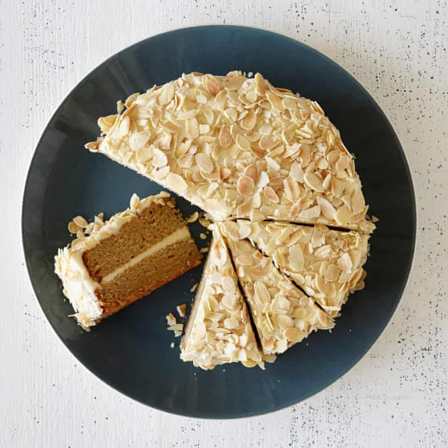 Mary Berry's honey and almond cake.