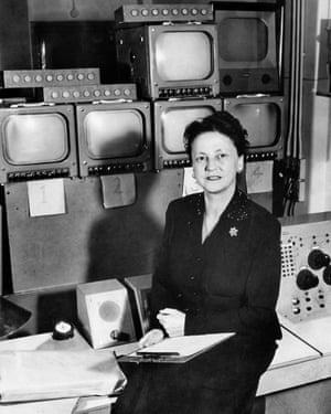 The First Lady of Television … Grace Wyndham Goldie.