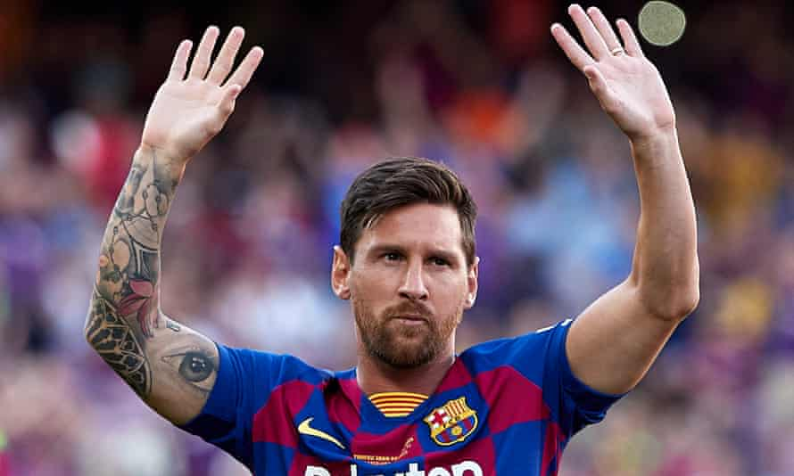 Lionel Messi leaving Barcelona after 'obstacles' thwart contract renewal |  Lionel Messi | The Guardian