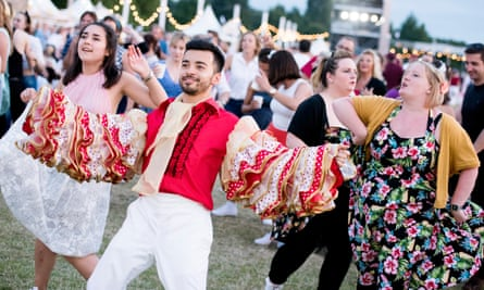 'Get involved or go home' ... Secret Cinema presents Dirty Dancing.