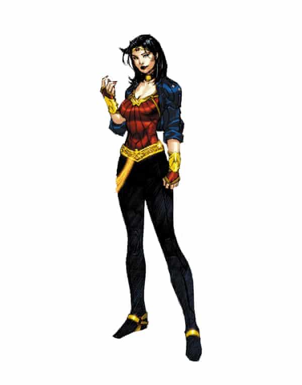 Wonder Woman's 2010 makeover.