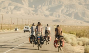 Chill guys in the desert heat … The Bikes of Wrath