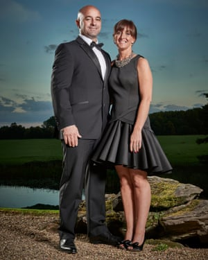 'I was lucky to live': Dave and Stacey Patterson.