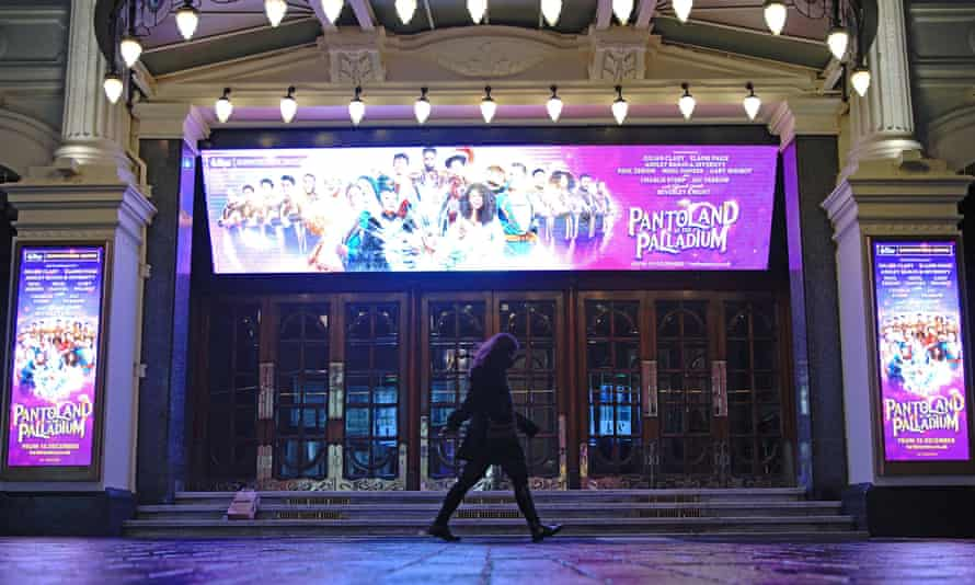 The London Palladium, which will be showing Pantoland for the last time on 15 December.