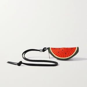 Watermelon pouch, £295, loewe.com