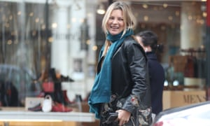 Kate Moss: she's a supermodel, apparently.
