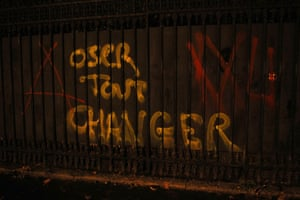 oser tout changer; dare to change everything