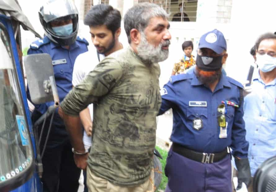 Bangladeshi journalist Shafiqul Islam Kajol
